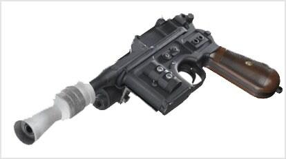 han solo dl44 blaster