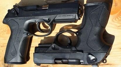 Gun Review - Beretta PX4 Full, Special Duty & Inox :: Guns com