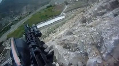 U S  Soldier Survives Mountainside Shoot-Out with Taliban