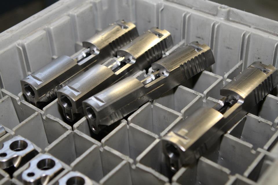 SIG pistol slides