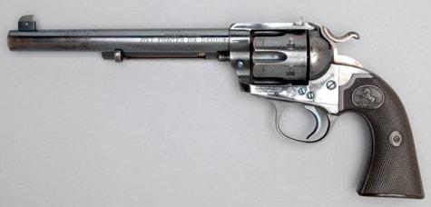 An original Colt Bisley Flattop Target.
