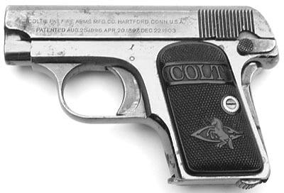 Colt 1908 (The Vest Pocket)