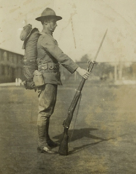1920s national with Enfield M1917