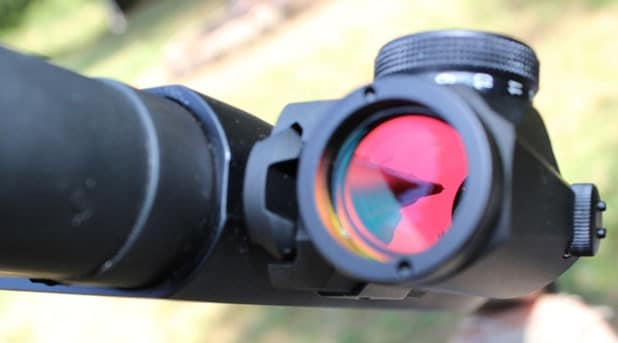 The Micro T1 on a Mossberg 500
