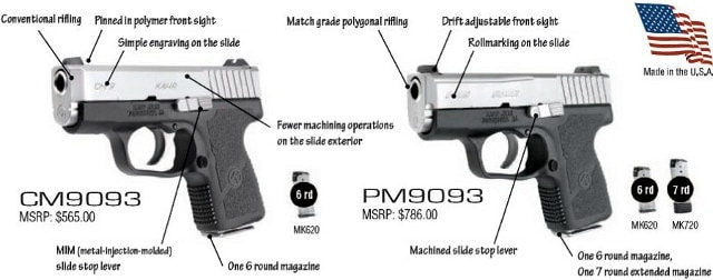 pm9 and cm9 specs