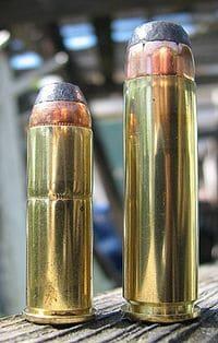 .44 Magnum next to a .500 S&W