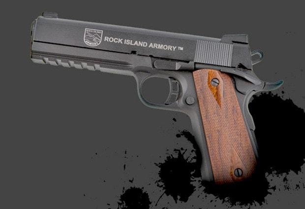 Rock Island Armory 1911 Tactical Pistol .45 ACP Handgun