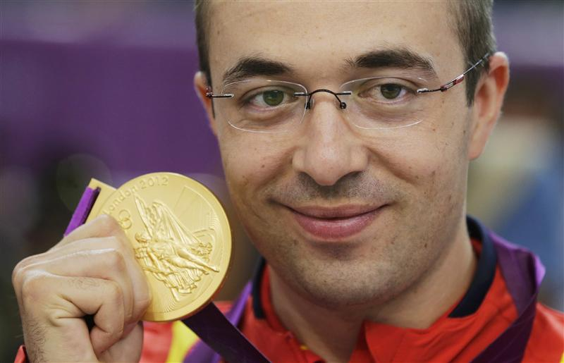 Romanian Shooting Gold Medal