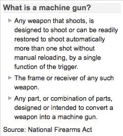 Machine Gun Definition