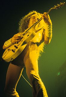 ted nugent performing in the 70s