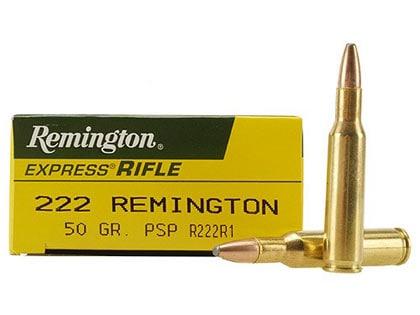 .222 Remington.