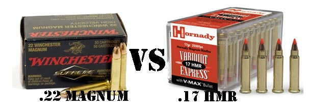 22 magnum vs 17 hmr ammo