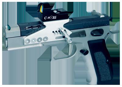 handgun with sight