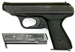 HK VP70 with magazine