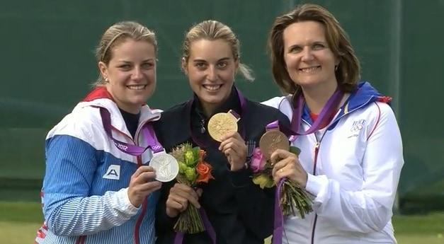 Women's Trap Medalists