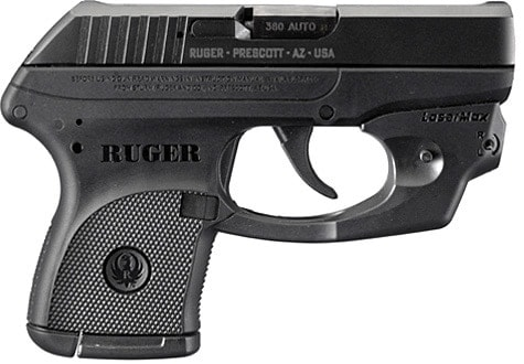 Ruger LCP with LaserMax