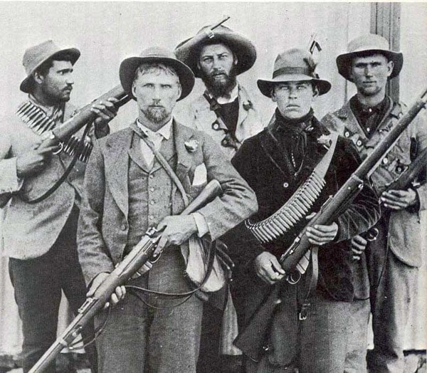 old west soldiers with guns
