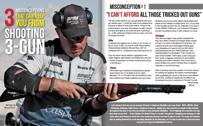 3-Gun Nation Magazine getting started
