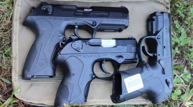 Three PX4 Storms in 9mm