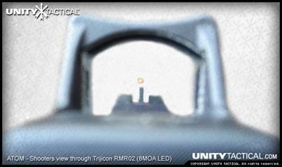 Atom sight picture