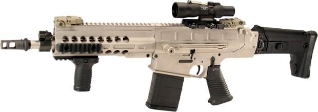 Paratus-SBR-12 assembled sniper rifle