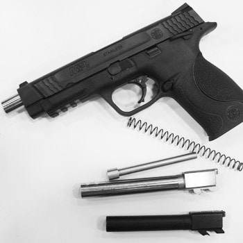 m&p pistol disassembled