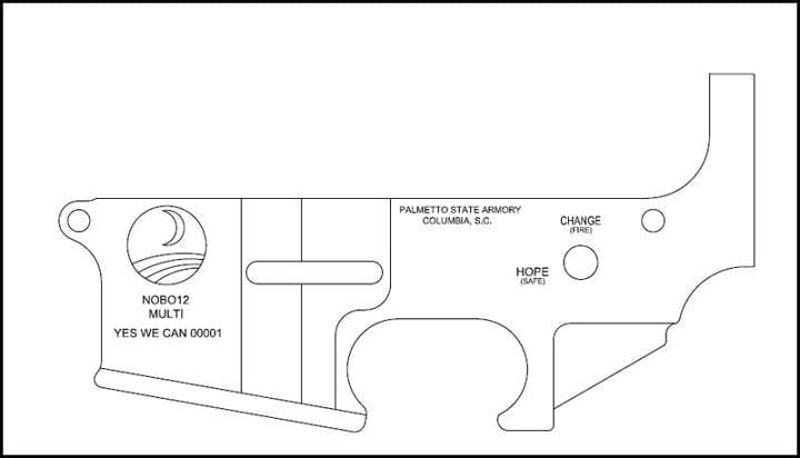 NOBO12 AR-15 Lower