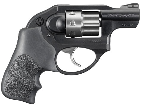ruger lcr on white background