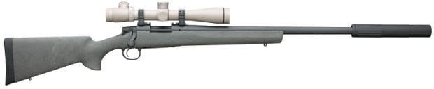 Remington Model 700 300 AAC Blackout 330 Blackout Bullets Sliencers