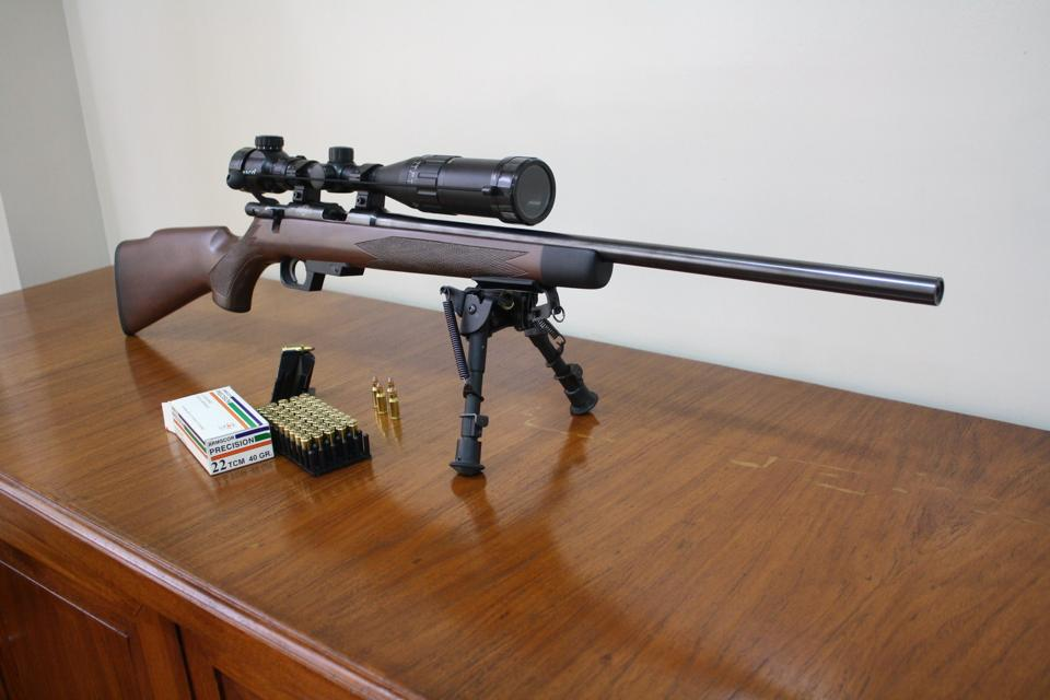 Armscor bolt action rifle  22 TCM