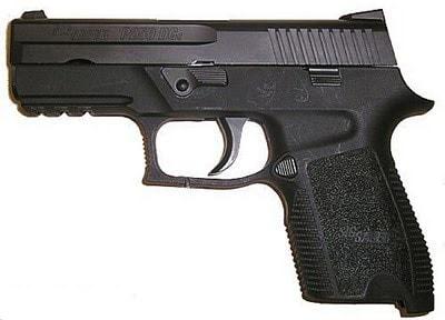 Sig Sauer P229 DA/SA.