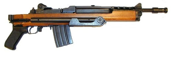 Military variant of the Ruger Mini-14 called AC-556.
