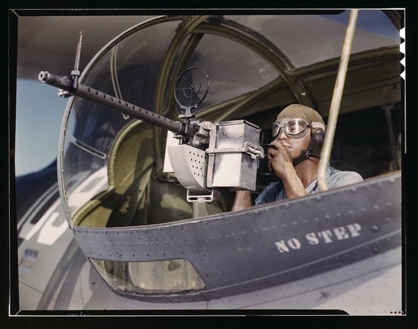 Stinger in cockpit.