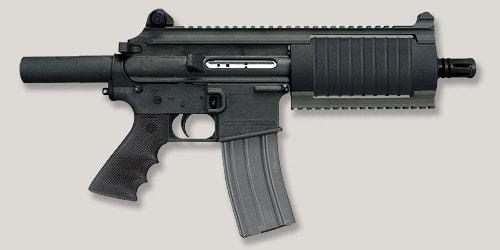 Bushmaster's Carbon 15 type 97 pistol