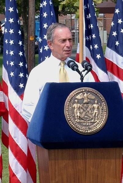 Bloomberg speech