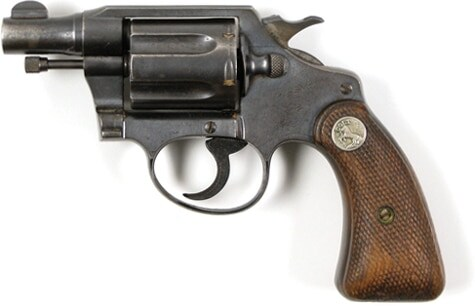 Bonnie Parker's Colt Detective Special