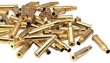 Brass cases.