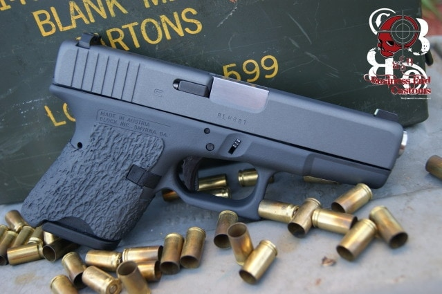 Business End Customs Glock 26L right side
