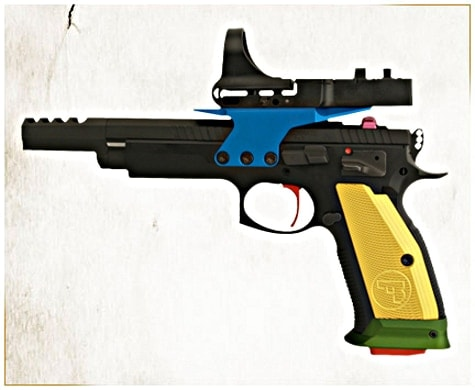 A colorful version of the Czechmate