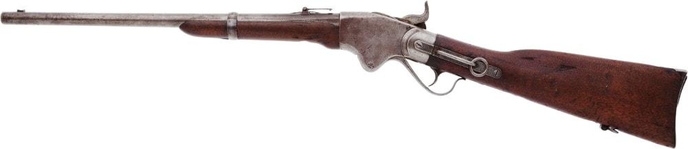 Custer's Model 1865 Spencer Carbine left side