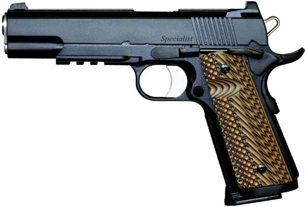 dan wesson 1911 officer pistol