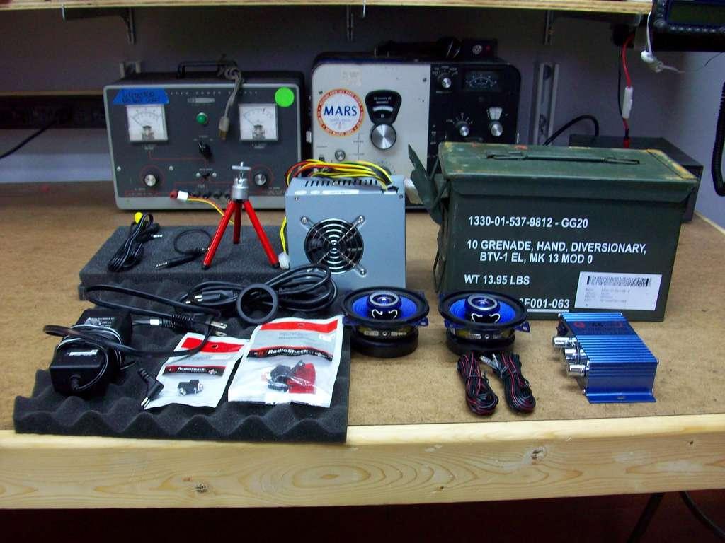 Ammo Speaker Supplies