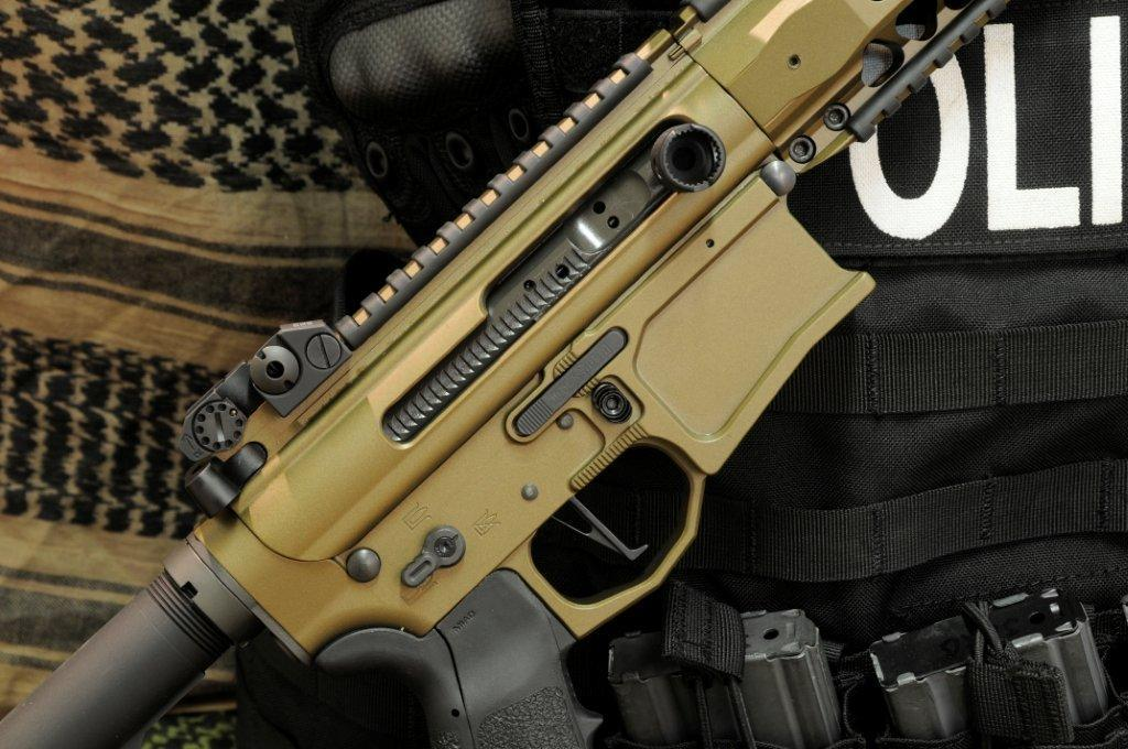 Ambidextrous AR-15 billet lower receiver by GPI Customs
