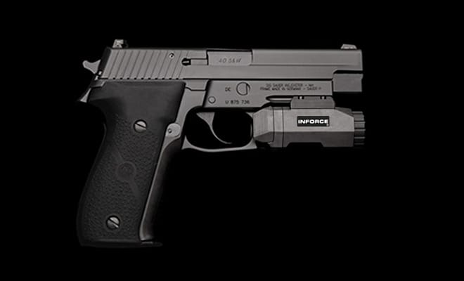 Inforce on a SIG P226