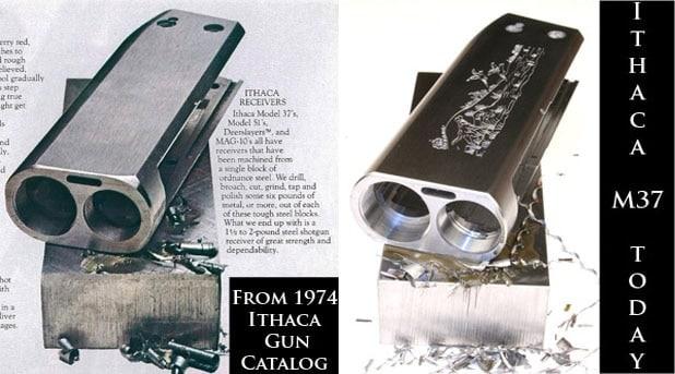 Ithaca 37 shotgun then and now