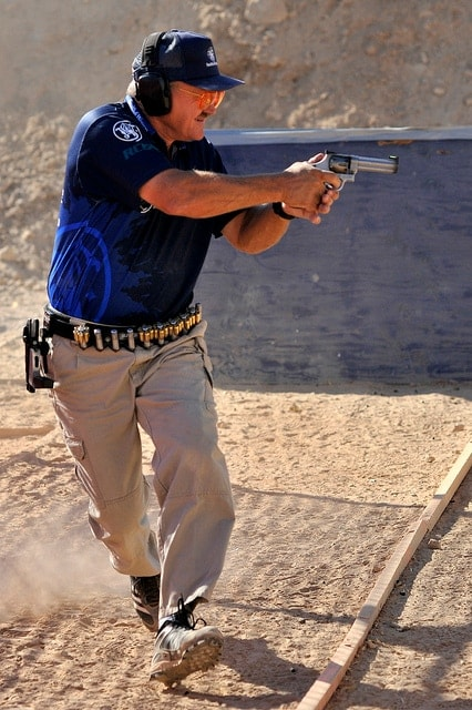 Fourteen Time International Revolver Champion Jerry Miculek