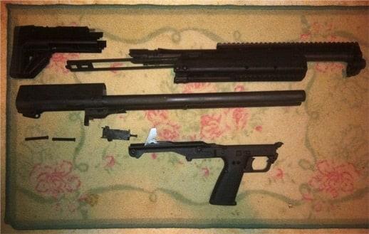 Kel Tec Shotgun KSG 12 Gauge Tactical Field Strip