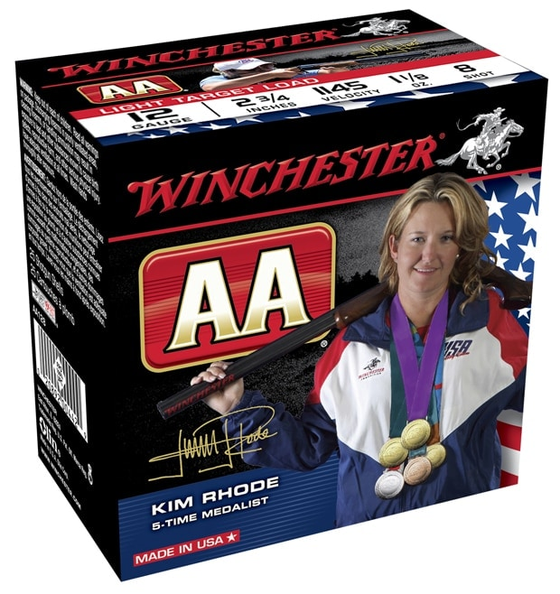 Limited edition Winchester AA Kim Rhodes shot shells