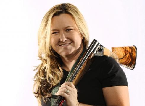 Kim Rhode and her 12-gauge
