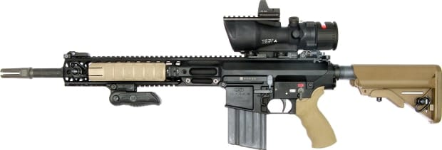 LMT L129A1 Sharpshooter Rifle